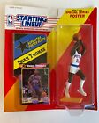 1992 Starting Lineup SLU Kenner ISIAH THOMAS Detroit Pistons POSTER AND CARD NEW