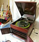 Victor Victrola Talking Machine Disc Phonograph VV IX Hand Crank Record Player