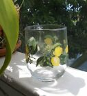 LOVELY LEMON GLASSES Set of 4 Fresh BRAND NEW 16 0unce Tumblers SO PRETTY