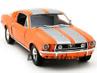 GREENLIGHT 118 1968 FORD MUSTANG FASTBACK DIECAST LIMITED 999PCS ORANGE 50830OR