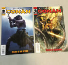 Conan Island Of No Return 1 & 2 Complete Set Dark Horse Comics 2011