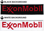 Exxon Mobil Oil  Gas Car Motor Racing Badge Iron On Embroidered Patch