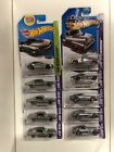 Hot Wheels 2013 ZAMAC HW Showroom Workshop Lot of 10 Datsun Monte Carlo Camaro +