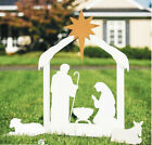 Nativity Garden Stake Set Outdoor Christmas Decor