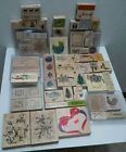 Rubber Stamp 60 PLUS Lot Stampin Up Rubber Stampede Stampabilities