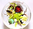 GIANT Paul STANKARD Art Glass HORNET Floral ROOT SPIRIT Sphere MARBLE Orb