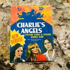 1977 Topps Charlie's Angels series 2 cards empty display box