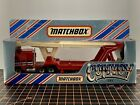 MATCHBOX CONVOY KENWORTH CAR TRANSPORTER TRUCK RED WHITE CY1 CY 1 WITH BOX 1983