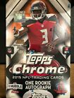 2015 Topps Chrome Football Factory Sealed Hobby Box