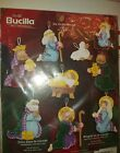 NEW Sealed Joy To The World Nativity Christmas BUCILLA Felt Ornaments Kit 84817