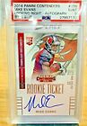 Contenders Football Rookie Ticket Autographs Visual History: 1998-2017 34