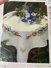 Modell Counted Cross Stitch Floral Tablecloth Kit NIP