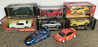 118 1 18 Scale Lot Bundle of 8 Diecast Cars Maisto Burago Motorworks Hotwheels