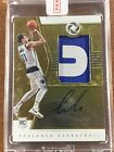 2018-19 Opulence Luka Doncic Rookie Patch Auto RPA RC Jersey Autograph 79