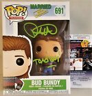 David Faustino Bud Bundy Signed Funko Pop 691 Married With Children JSA COA 495