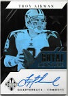 TROY AIKMAN 2019 PANINI LIMITED ROYAL SIGNATURES AUTOGRAPH AUTO 10 10 COWBOYS MH