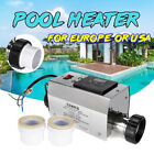 3KW Electric Water Heater Thermostat Adjustable for Swimming Pool SPA Hot
