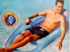 NEW SWIMWAYS SPRING FLOAT RECLINER LOUNGER INFLATABLE FLOATING POOL LAKE CHAIR