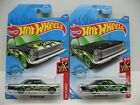 2020 HOT WHEELS SUPER TREASURE HUNT 65 FORD GALAXIE AND BASIC