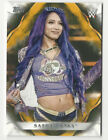 Sasha Banks 2019 Topps WWE Undisputed Card #63 Gold Parallel 10