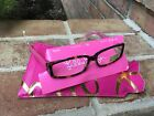 Lilly Pulitzer Sandpiper Reading Glasses Readers Tortoise Pink Floral +20 EUC