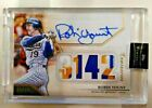 Robin Yount 2020 Topps Luminaries Hit Kings Quad PATCH Autograph Auto 1 15