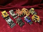 Diecast Skid Steer Lot9 Different Tractors John Deere Bobcat Case NH 1 64 Scale