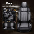 Us 5-seat Car Suv Pu Leatherlinen Seat Covers For Nissan Altima Sentra Rogue