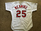 Mark McGwire St Louis Cardinals Authentic Jersey 48 XL Russell Vintage 1998
