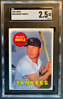 1969 Topps #500 Mickey Mantle SGC 2.5 GD+ New SGC Label Not 2 or 3 Not PSA BVG