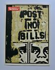 POST NO BILLS COLLAGE  SIGNED NUMBERED SCREEN PRINT  OBEY  SHEPARD FAIREY
