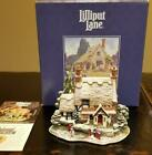 Lilliput Lane Cottage Frosty Morning 1998 Christmas Special Edition L2128 w Box
