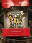 New 2020 HARRY POTTER Hogwarts Crest Holiday Hallmark Christmas Tree Ornament