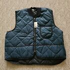 New Quilt Diamond Pattern Wear Guard Mens 3XL Shell Vest Made In USA NWT