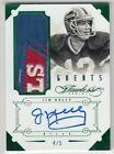 UPDATE: Game-Used or Event-Worn? Panini Acknowledges Mislabeled Memorabilia in 2014 Flawless Football 18