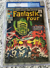 FANTASTIC FOUR 49 CGC 75 OW Silver Age Comic Book OLD LABEL 2ND SILVER SURFER