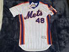 New York Mets Jacob deGrom MAJESTIC 1986 Throwback Flex Base AUTHENTIC Jersey 44