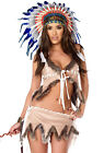 Sexy womens adult native American skirt costume