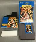 Advanced Dungeons  Dragons Pool Of Radiance Nintendo NES Game Complete Good