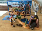 Playmobil 5252 VHTF Western Complete Native American Children Waterfall Bear Cav