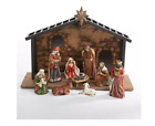 Kurt S Adler 10 pc Christmas Nativity Set