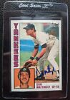 2001 TOPPS ARCHIVES DON MATTINGLY ON CARD AUTOGRAPH AUTO NEW YORK YANKEES