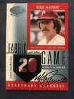 Mike Schmidt Cards, Rookie Cards and Autographed Memorabilia Guide 46