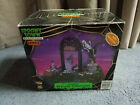 Rare! Lemax~Spooky Town Village~Restless Tombstones! Animated Halloween 74605~07
