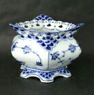 Royal COPENHAGEN Blue Fluted FULL LACE Sugar Bowl 1112 2nd Quality