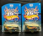 Hotwheels 200115th Collector Convention VW DRAG BUSVHTFYELLOW TAMPO lot