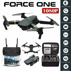 Force One E58 Drone Pro WI FI 1080P HD Camera Battery Foldable RC Quadcopter