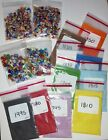 Huge Glass Blowing Lot COE 90 Many Colors frit + Dichroic Glass  Supplies