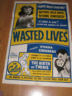 CHILDREN OF LOVE BIRTH OF TWINS Original 1sh Movie Poster