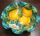 Vietri Pottery 7inch bowl lemonMade Painted by hand in Italy